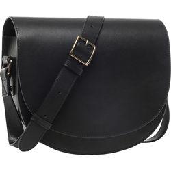 ONA Savannah II Leather Camera and Everyday Crossbody Bag (Black)