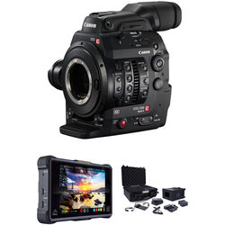 Canon C300 Mark II ProRes RAW Atomos Kit with Accessories (EF Mount)