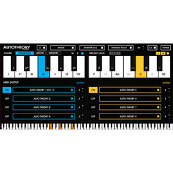 Mozaic Beats AutoTheory 4 Upgrade - MIDI Remapping Software (Download)