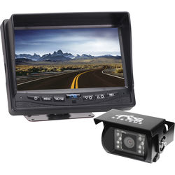 "Rear View Safety 7"" Commercial Grade Backup Camera System"