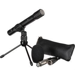 Tascam TM-60 Battery-Powered Condenser Microphone Bundle