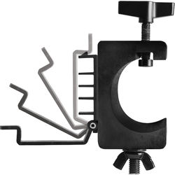 On-Stage Lighting Clamp with Cable Management System (Pair)