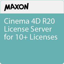 Maxon Cinema 4D R20 License Server for 10+ Licenses (Download)