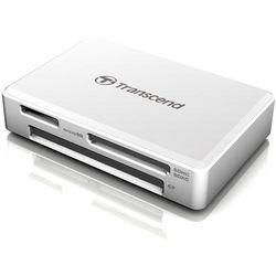 Transcend RDF8 USB 3.1 Gen 1 Card Reader (White)