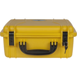 Seahorse 520 Protective Case Plastic Keyed Locks (No Foam, Safety Yellow)
