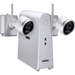 Lorex 6-Channel 1080p DVR with 32GB microSD Card & 2 1080p Wire-Free Night Vision Bullet Cameras