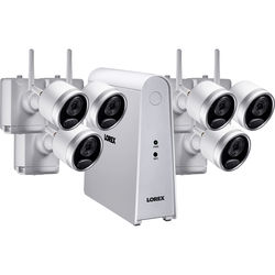 Lorex 6-Channel 1080p DVR with 1TB HDD & 6 1080p Wire-Free Night Vision Bullet Cameras