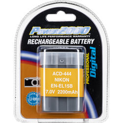 Power2000 ACD-444 Battery for Nikon Z7 and Z6 Mirrorless Digital Cameras