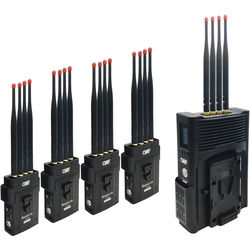 Crystal Video Technology BeamLink-Quad 4-Channel Full HD Wireless Video Transmission System