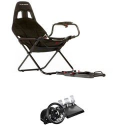 Playseat Challenge Racing Seat & Thrustmaster T-GT Racing Wheel Kit