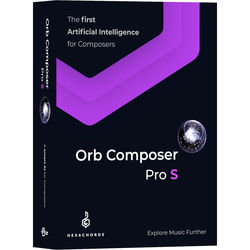 Hexachords Orb Composer Pro S - Music Composition Software (Download)