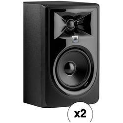 "JBL 306P MkII Kit - Two Powered 6.5"" Two-Way Studio Monitors (Pair)"