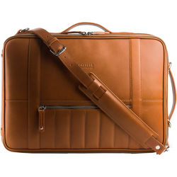 T. Forevers 48HR Switch Briefcase/Backpack (Rum Leather)