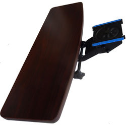Omnirax KMSOM-MF Adjustable Keyboard / Mouse Shelf for OmniDesk (Mahogany HPL)
