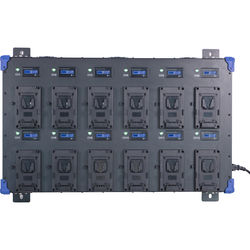 Fxlion 12-Bay V-Mount Wall Charger