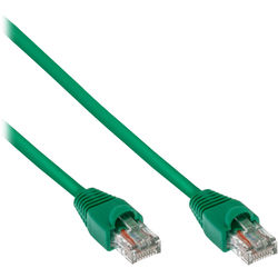 Pearstone Cat 5e Snagless Patch Cable (50', Green)