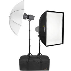 Angler Two 300Ws Monolight Studio Kit