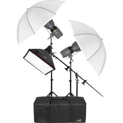 Angler 3-Monolight Portrait Boom Kit with Case