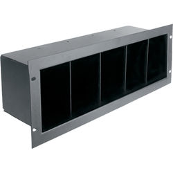 Atlas Sound CD4 Rackmount Compact Disc Storage Shelf (3 RU)
