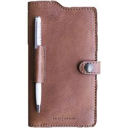 e0d0d8d39 Kelly Moore Bag Passport Wallet Full Grain Leather (Apache Brown)