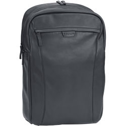 """Cecilia Gallery Mercator 16L Camera and 15"""" Laptop Backpack (Black, Leather)"""