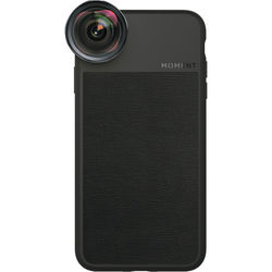Moment Photo Case for the iPhone XS (Black Canvas)