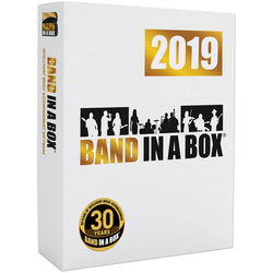 eMedia Music Band-in-a-Box 2019 Pro - Automatic Accompaniment Software (Windows, Download)