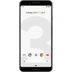 Google Pixel 3 64GB Smartphone (Unlocked, Clearly White)