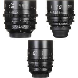 Sigma T1.5 FF High-Speed 35, 50, 85mm Prime Bundle (PL)