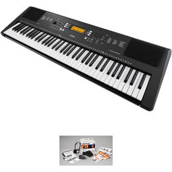 Yamaha PSR-EW300 76-Key Portable Keyboard Kit with Stand and Accessory Package