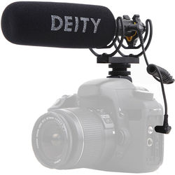 Deity Microphones V-Mic D3 Pro Supercardioid Shotgun Microphone with Location Recording Bundle