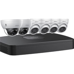 Dahua Technology 8-Channel 8MP NVR with 3TB HDD, 4 4MP Mini Turret Cameras & 2 8MP Mini Dome Cameras Kit