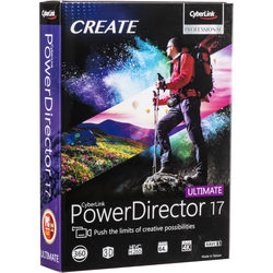 CyberLink PowerDirector 17 Ultimate (DVD)