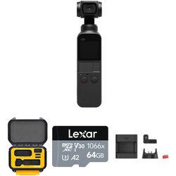 DJI Osmo Pocket Gimbal Kit with HPRC1400 Hard Case