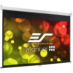 "Elite Screens M100HSR-PRO PRO SRM Manual Projection Screen (49 x 87.2"")"