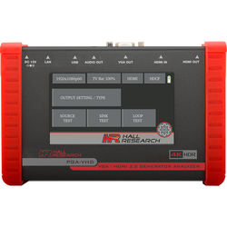 Hall Research HDMI & VGA Video Generator, Tester, and Analyzer