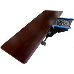 Omnirax KMSF Articulating Keyboard and Mouse Shelf for F2, Forte, and Fusion Desk Surface (Mahogany Formica Finish)
