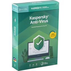 Kaspersky Anti-Virus 2019 (3 Devices, 1-Year License, Boxed)