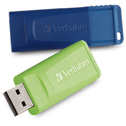 Verbatim 64GB Store 'n' Go USB Flash Drive (2-Pack)