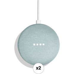 Google Home Mini Pair Kit (Aqua)