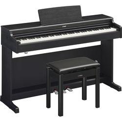 Yamaha Arius YDP-164 88-Key Digital Console Piano with Bench (Black Walnut)