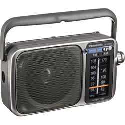 Panasonic RF-2400D Portable FM/AM Radio with AFC Tuner