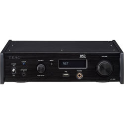 Teac Dual Monaural USB DAC/Network Player Supporting DSD512 and PCM32/768 (Black)
