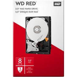"""WD 8TB Red 5400 rpm SATA III 3.5"""" Internal NAS HDD Retail Kit"""