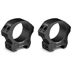 Vortex Pro Series Riflescope Ring Pair (30mm, Aluminum, Low, Matte Black)