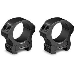 Vortex Pro Series Riflescope Ring Pair (30mm, Aluminum, Medium, Matte Black)