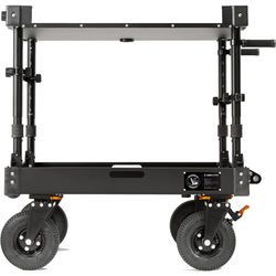 Inovativ Voyager 36 EVO Equipment Cart with X-Top Keyboard Shelf