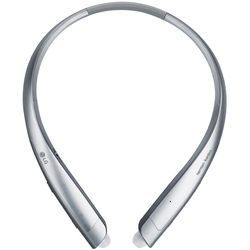 LG HBS-930 TONE Platinum Alpha Wireless In-Ear Headphones (Silver)