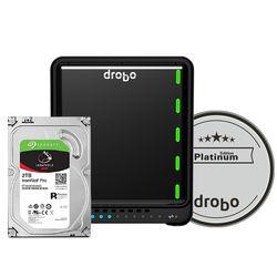 Drobo 5D3 6TB 5-Bay Thunderbolt 3 Array (3 x 2TB, Platinum Edition)