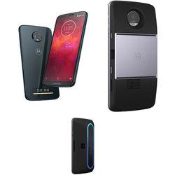 Moto Z3 Play 64GB Smartphone with Projector/Speaker Moto Mods